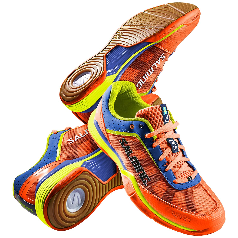 Salming Viper 3.0 Mens Squash Shoe Shocking Orange