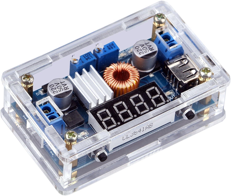 Dc Buck Converter Yeeco To Step Down 5v 3a Stepdown Switching Voltage Regulator Schematic With Lm2576t5v 12v 24v 7 36v 125 32v Volt Reducer Board Power Supply