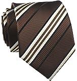 "Men's Gingham Check Stripe Ties Pattern Business Formal Designer Neckties 3.15"""
