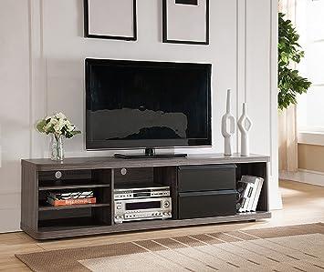 Amazon Com Smart Home 151357 Entertainment Center Tv Stand 70 Inch