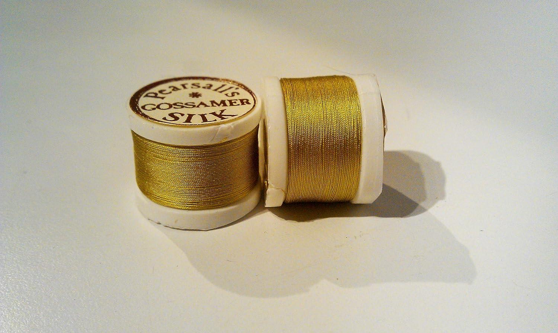 6a Gold Pearsalls Gossamer Fly Tying Silk