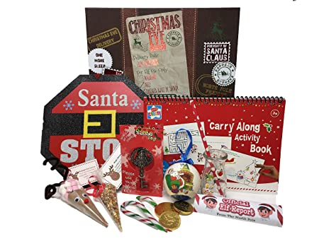 Christmas Eve Box For Children Small Amazoncouk Kitchen Home
