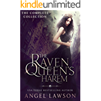 The Raven Queen's Harem (Reverse Harem Paranormal Romance Complete Series) (English Edition)