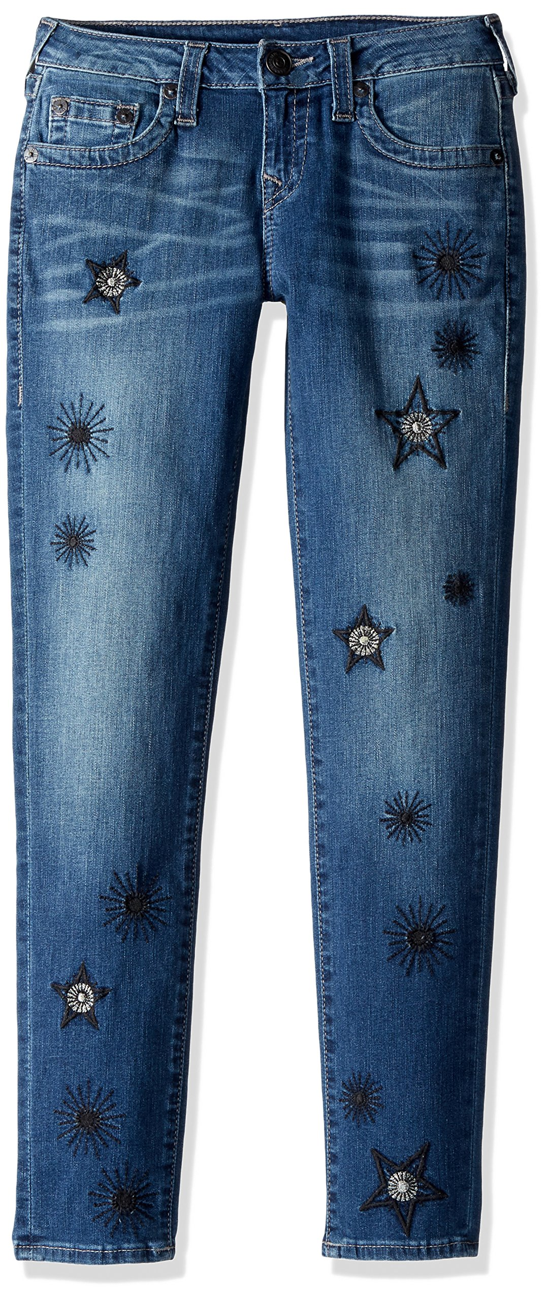 True Religion Big Girls' Casey Skinny Jean, Star Wash, 16