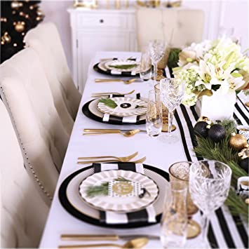 Holiday Table Setting Decor Set For Thanksgiving, Christmas, Holidays Or  Any Dining Table Party
