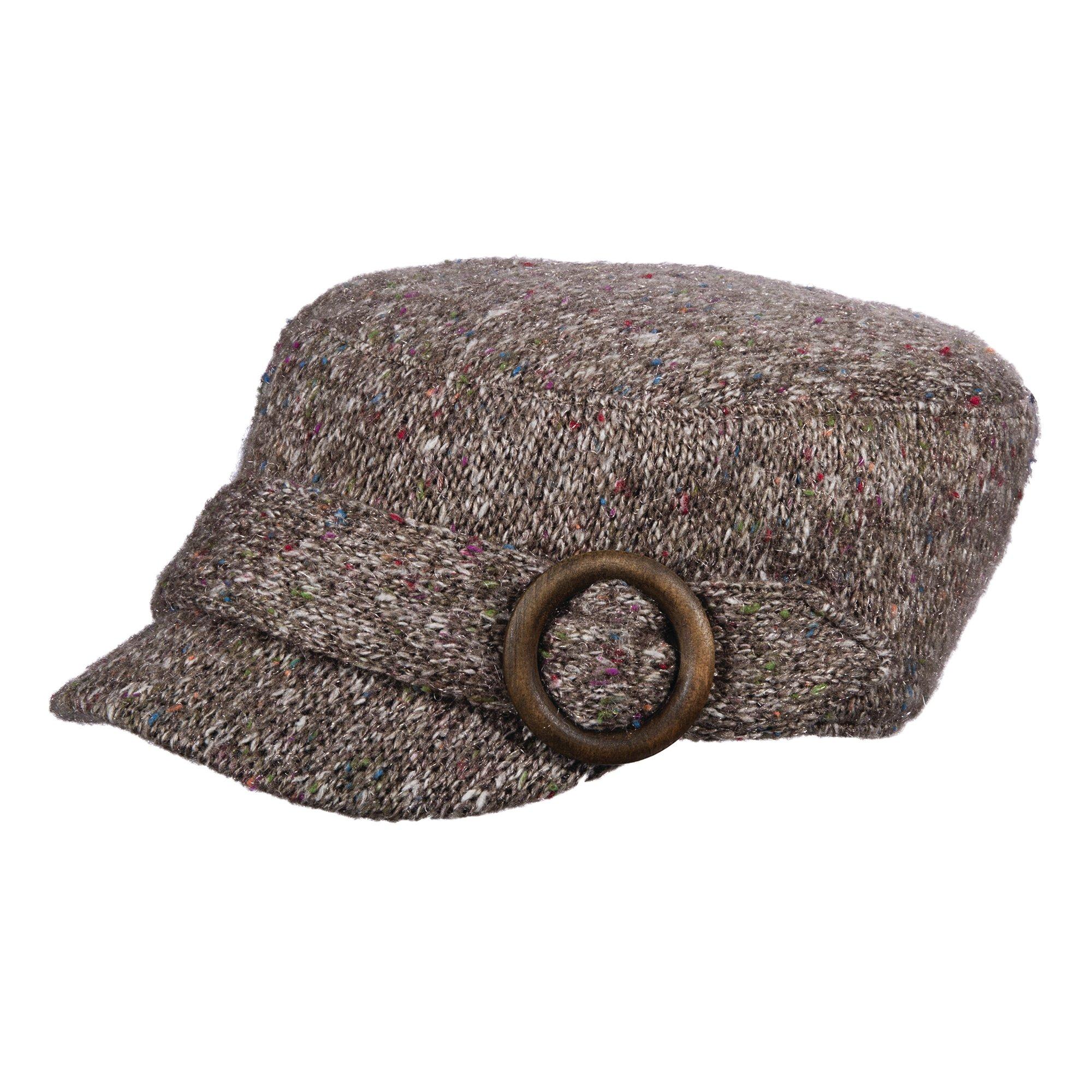 SCALA Knit Cadet HAT (Grey)