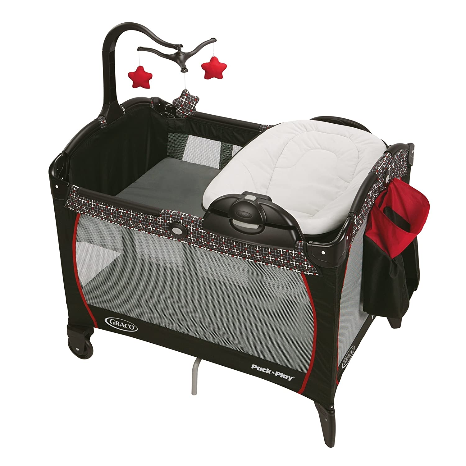 Graco Pack N Play Playard with Portable Lounger and Changer Marco 1977803
