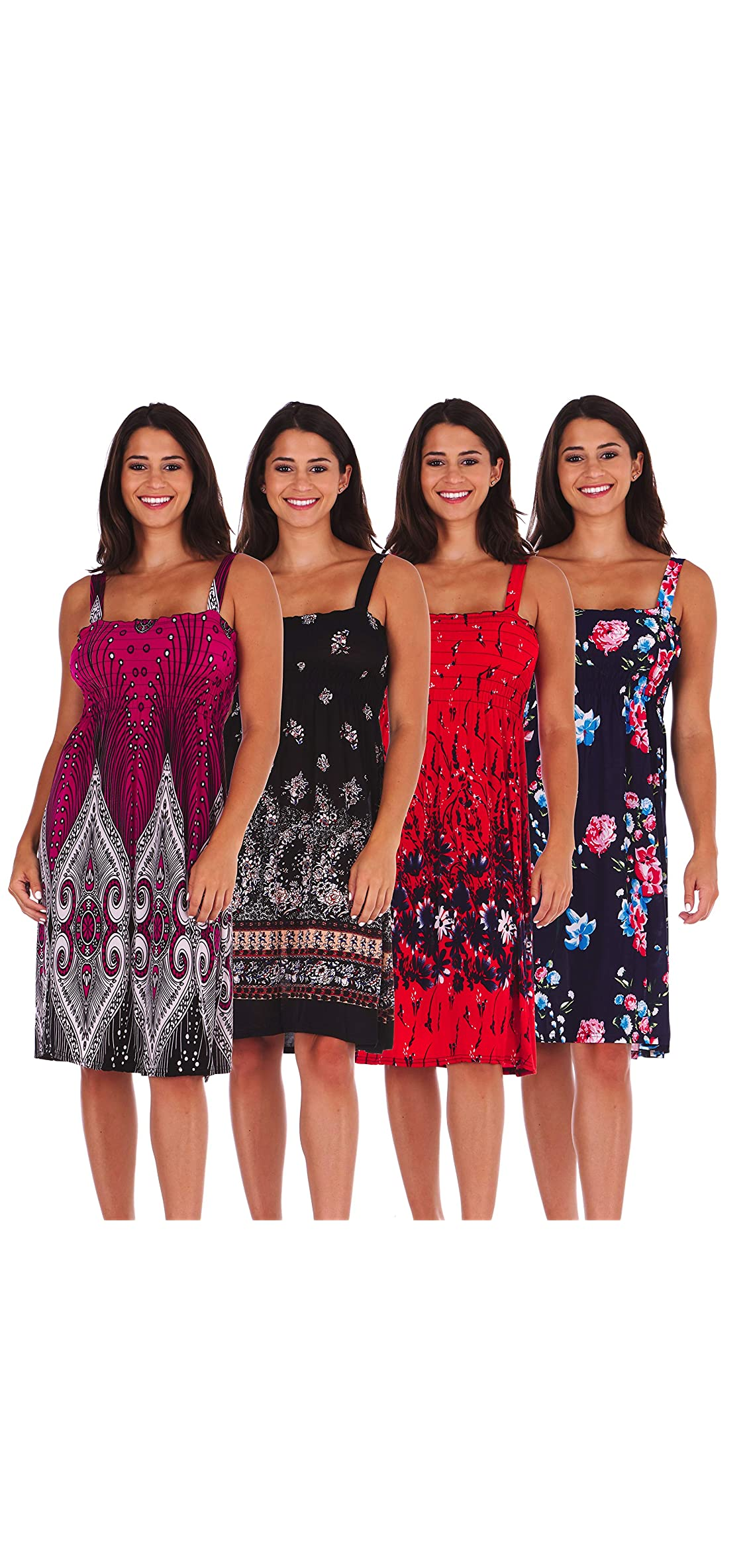 Set Of  Sundresses For Women Plus Size Sun Summer Dresses