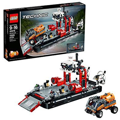 LEGO Technic Hovercraft 42076 Building Kit (1020 Pieces): Toys & Games