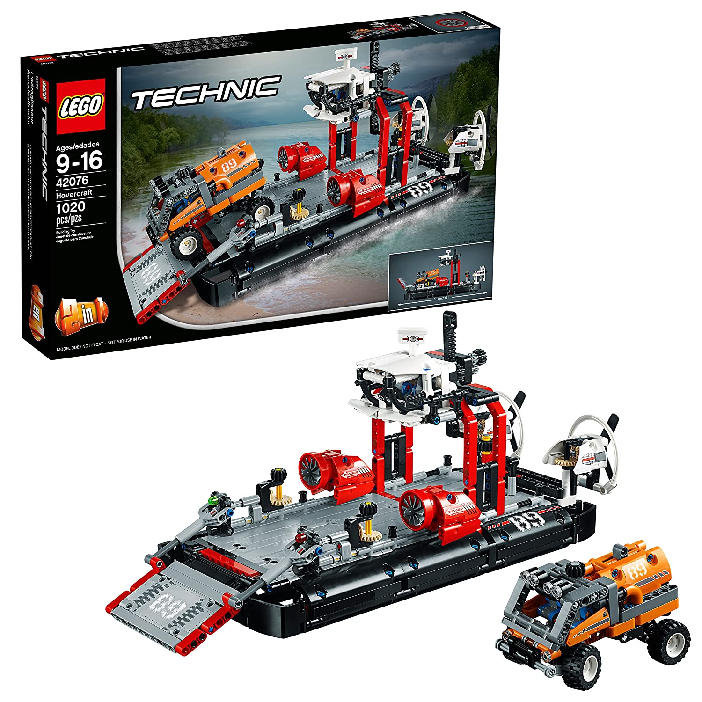 LEGO Technic Hovercraft 42076 Building Kit (1020 Pieces)