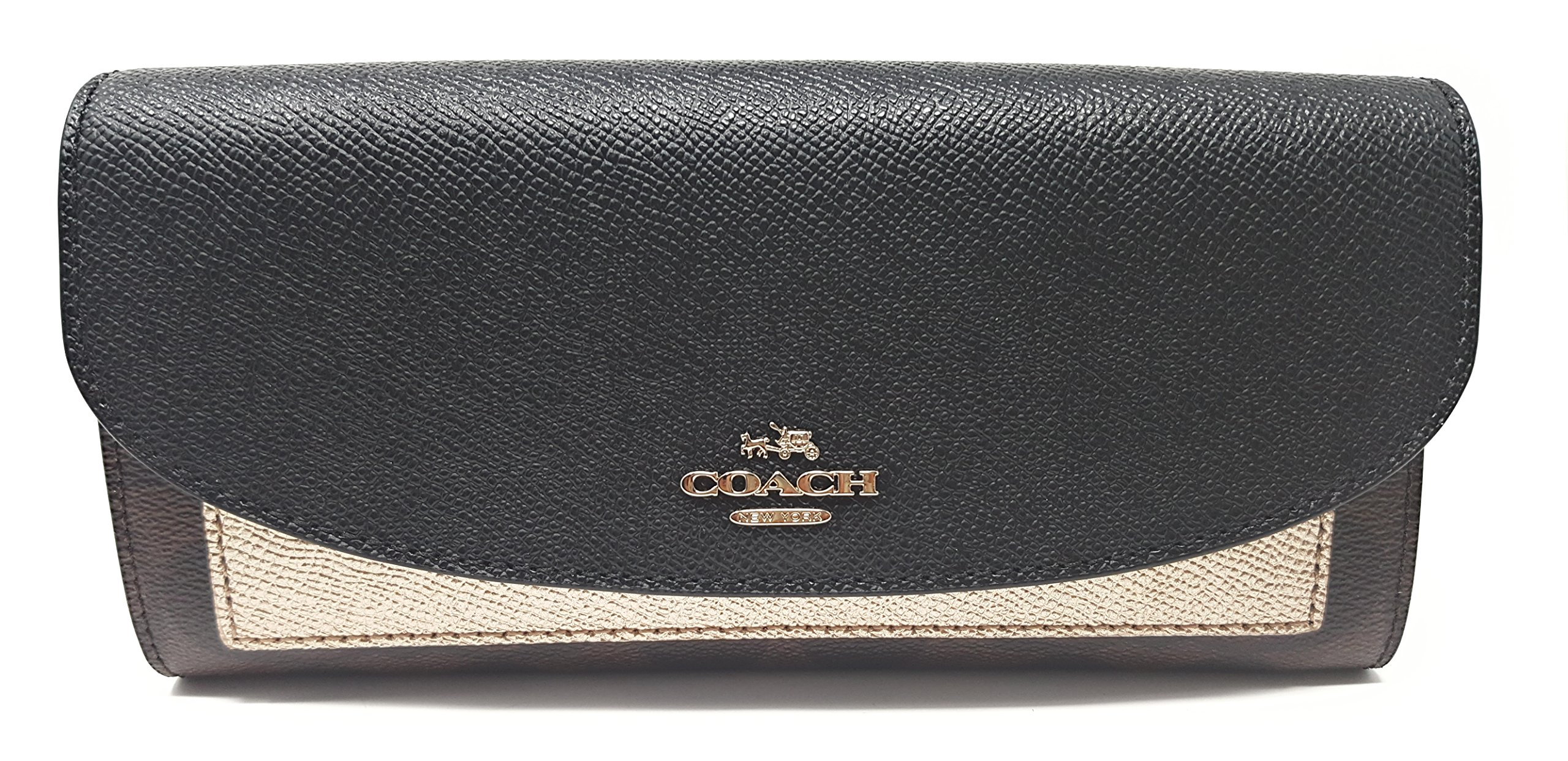 Coach Gift Box Slim Envelope Wallet (Brown/ Black Platinum)