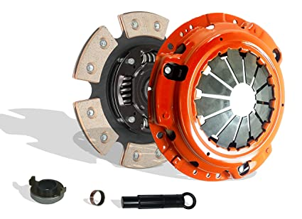 Clutch Kit Works With Set Honda Civic Base Acura Rsx Crx Si Hatchback 3-Door