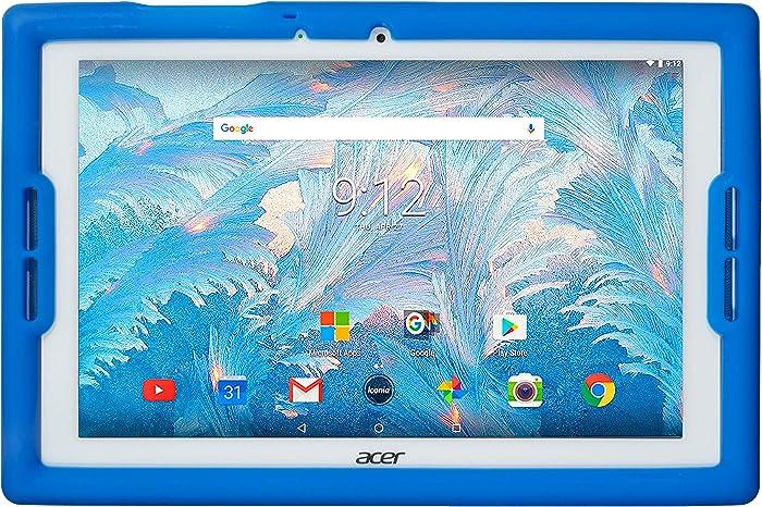 BobjGear Bobj Rugged Tablet Case for Acer Iconia B3-A40 and B3-A30 Kid Friendly (Batfish Blue)