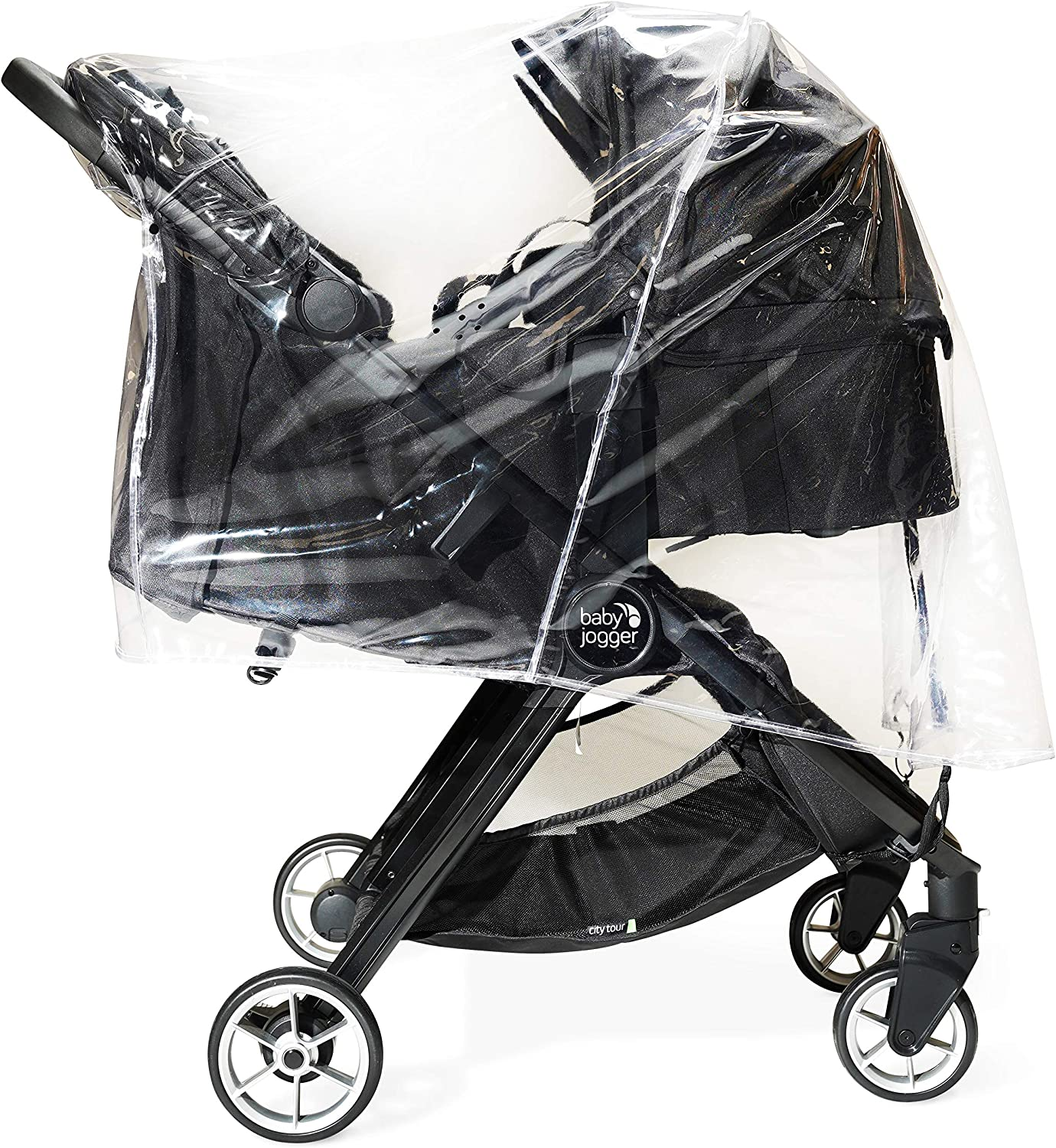 Rain Cover for Twin Baby Jogger City Mini Double Series,Supersoft UK Made