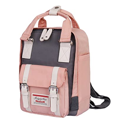 ISIYINER School Bag Casual Backpack Durable Mini Rucksack Waterproof Nylon  Daypack for Shopping Outdoor Travel Hiking ec4be97212