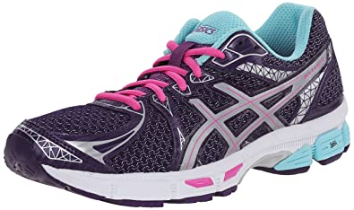 ASICS Women's Gel-Exalt 2 Lite-Show Running Shoe, Darkberry/Silver/