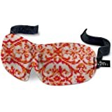 40 Blinks Luxury Ultralight Comfortable Contoured Eye Mask/Blindfold forTravel & Sleep (Damask)