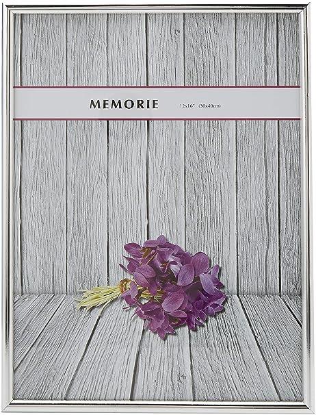 Memorie 12 x 40,64 cm 1/2 cojín, Plateado: Amazon.es: Hogar