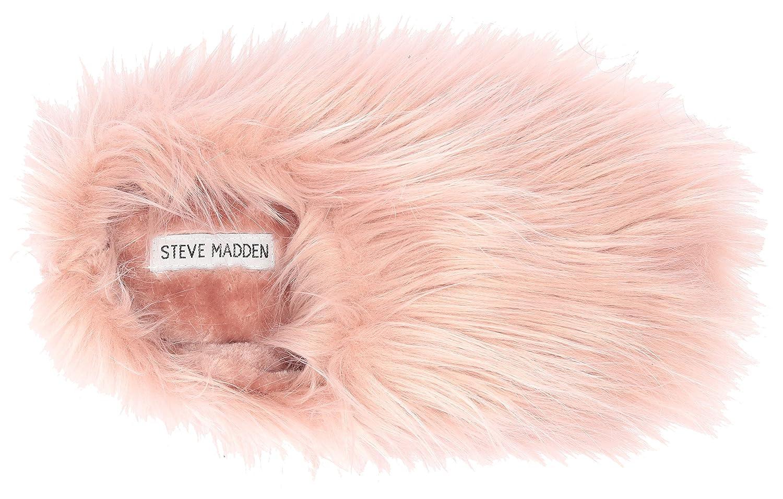 eedbac7057a Steve Madden Women s Fuzzy Slipper  Amazon.co.uk  Shoes   Bags