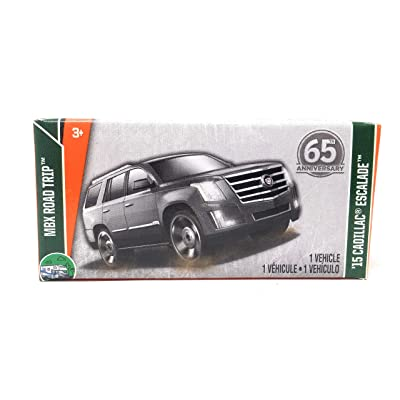 Matchbox 65th Anniversary Power Grabs '15 Cadillac Escalade MBX Road Trip 1/35: Toys & Games