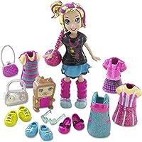 Polly Pocket–T1217–Mini-poupée y Accesorios–Coffret Traje Electropop–Polly + squirrelular