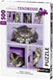Nathan - 87227 - Puzzle - Chatons mignons - 500 pièces