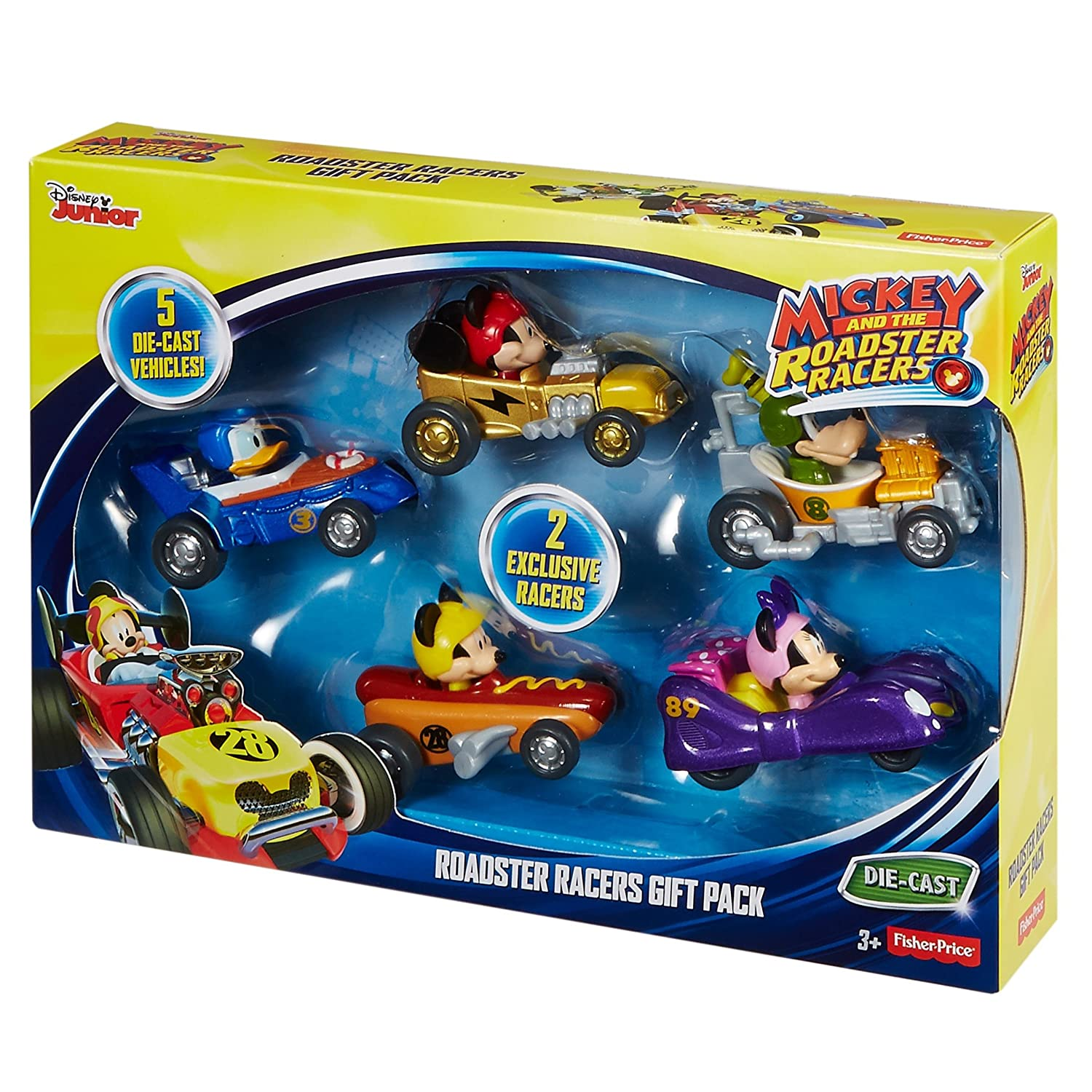 Amazon.com: Fisher-Price Disney Mickey and the Roadster Racers ...