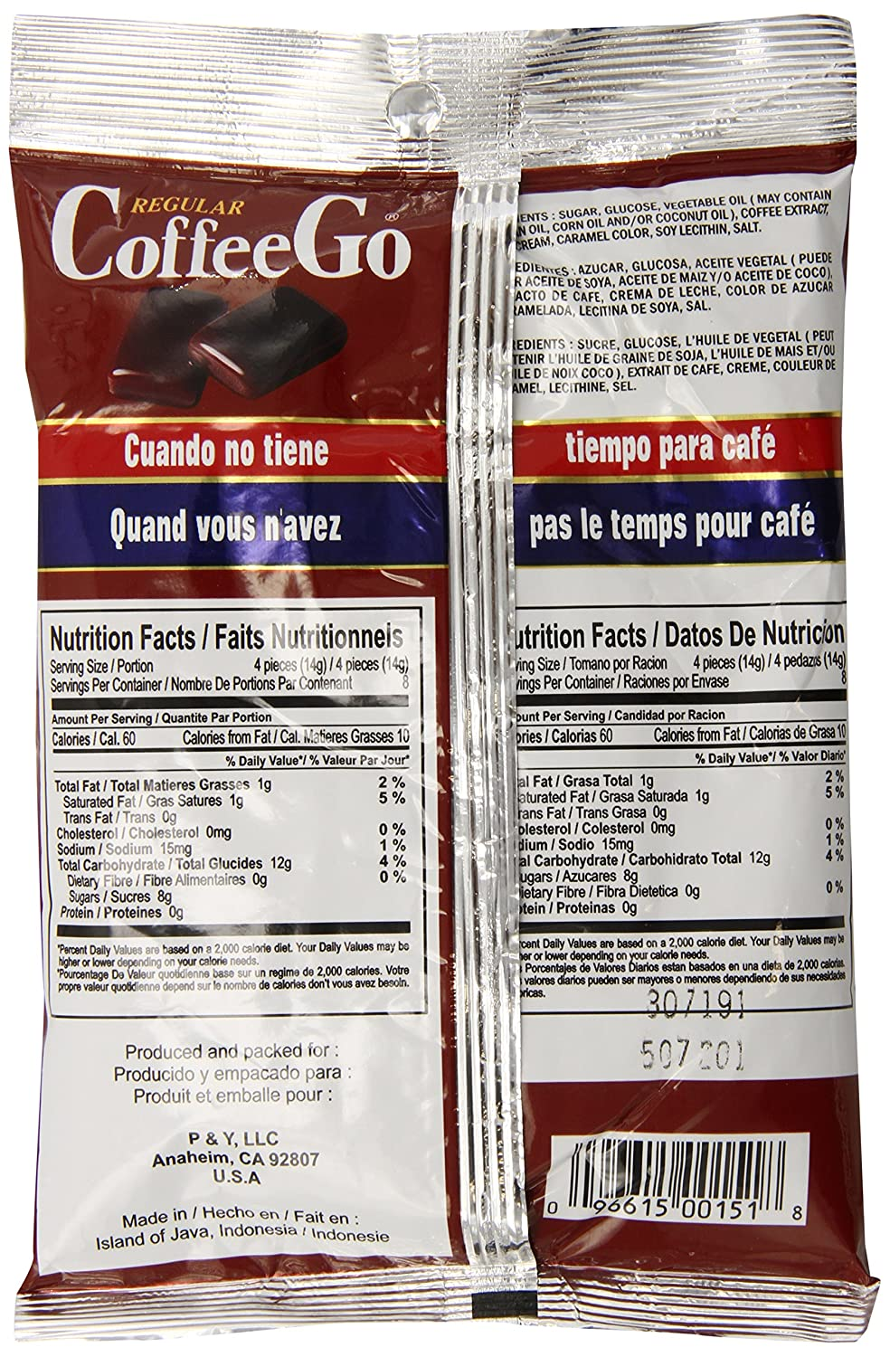 CoffeeGo Coffee Candy, Regular, 4.05 Ounce: Amazon.com: Grocery & Gourmet Food