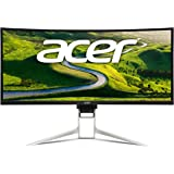 "Acer Gaming Monitor 37.5"" Ultra Wide Curved XR382CQK bmijqphuzx 3840 x 1600 1ms Response Time AMD FREESYNC Technology (Display, HDMI & MHL Ports)"
