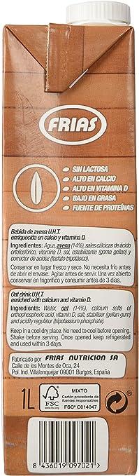Frias Bebida de Avena - 6 Briks: Amazon.es: Alimentación y bebidas