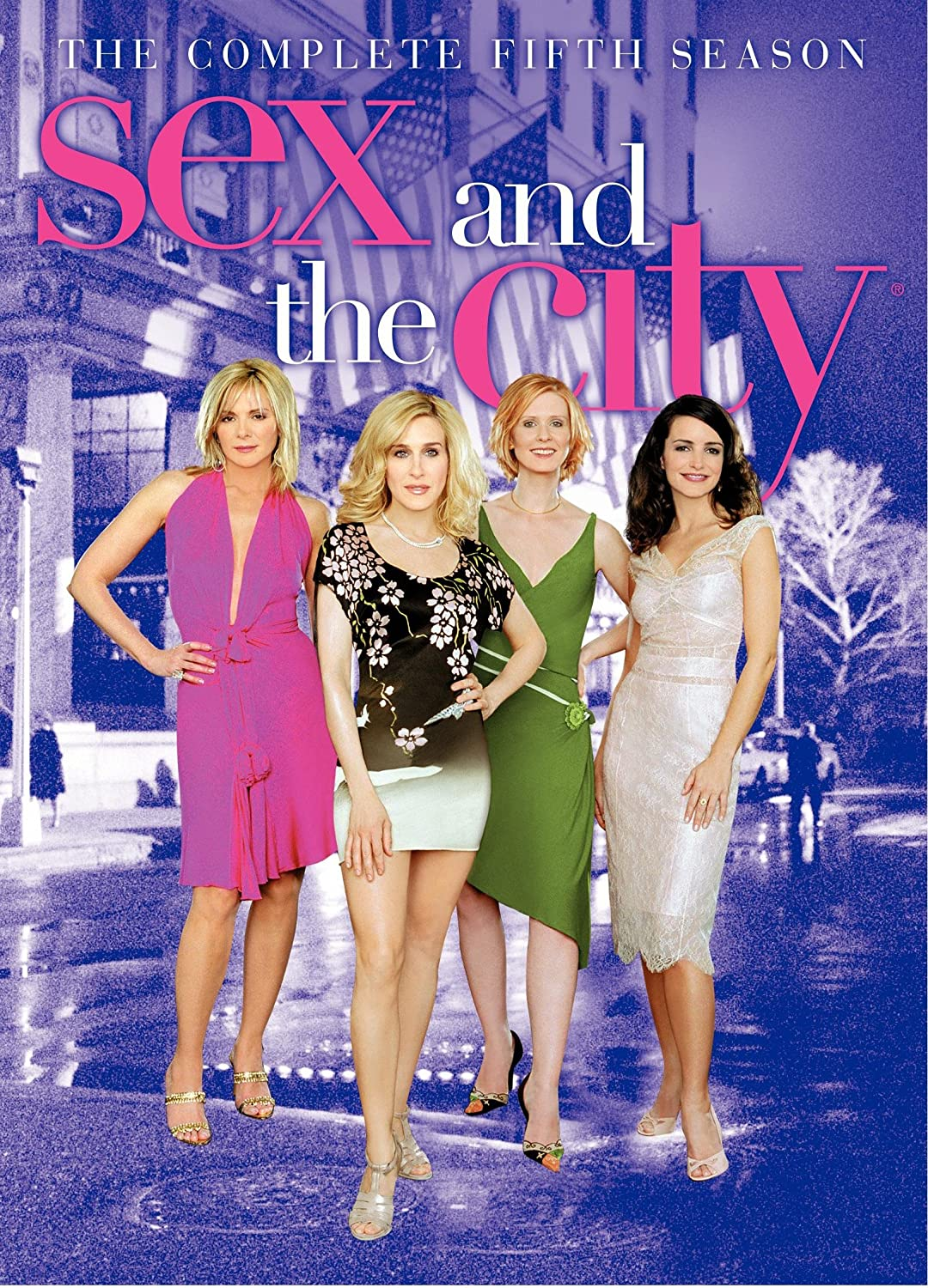 How many sex in the city dvds are there