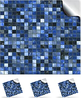 30 midnight blue printed in 2d kitchen bathroom tile stickers for 150mm tp3