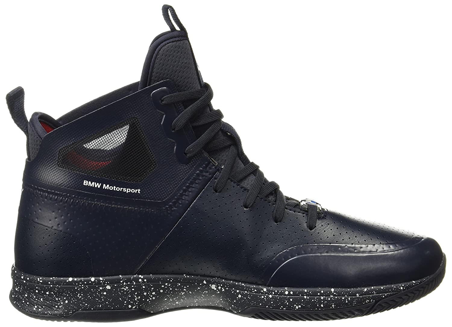 4a176e72d60577 Puma Men s BMW Ms Whiplash Mid Syn Team Blue and High Risk Red Sneakers - 6  UK India (39 EU)  Buy Online at Low Prices in India - Amazon.in