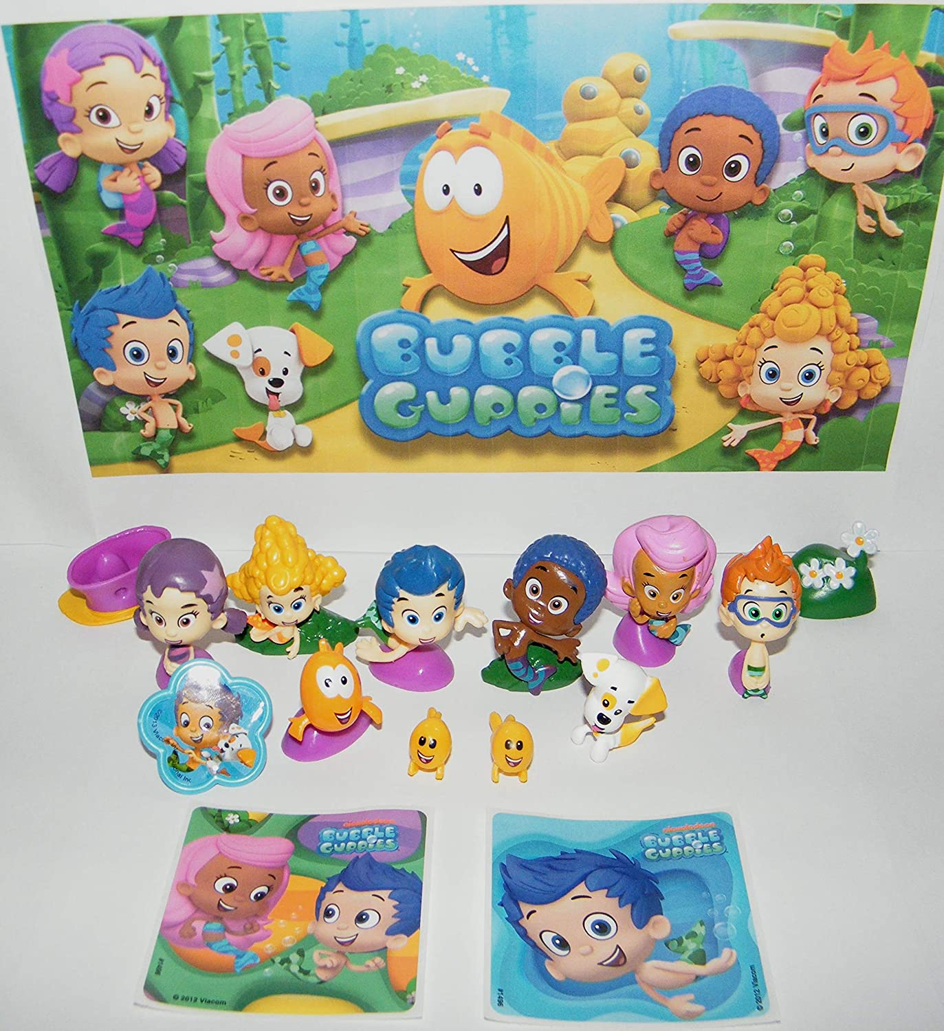 """BRAND NEW For Kids Bubble Guppies plush doll backpack 16/"""" inches"""