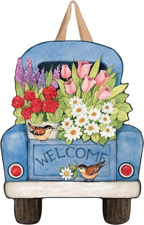 Studio M DD1668 Flower Pickin' Time Indoor/Outdoor Door Décor