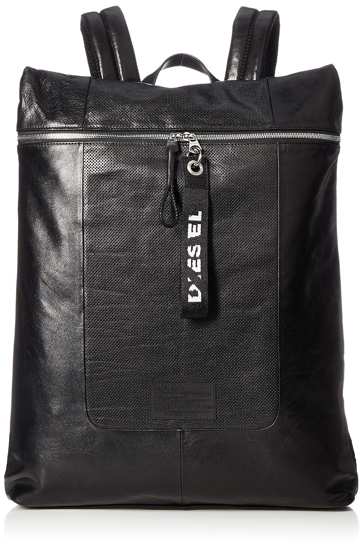 (ディーゼル) DIESEL メンズ バッグ リュック バックパック X06075PR386 UNI ブラック B07MXRRQPL