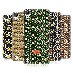 Official Emoji Floral Patterns Hard Back Case for HTC Desire 530