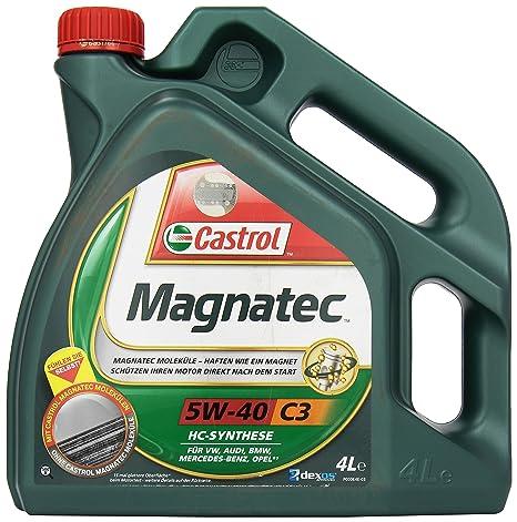 Castrol MAGNATEC Aceite de Motores 5W-40 C3 4L (Sello alemán)