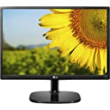 LG 20MP48A-P - Monitor  IPS/LED de 51 cm para PC  (20 pulgadas, IPS, LED, 1440 x 900 pixeles, 14 ms, 16:9, 200 cd/m2) Color Negro