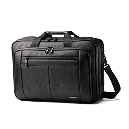 how to purchase limpid in sight promotion Samsonite Classic Business 3 Gusset Business Case, Black