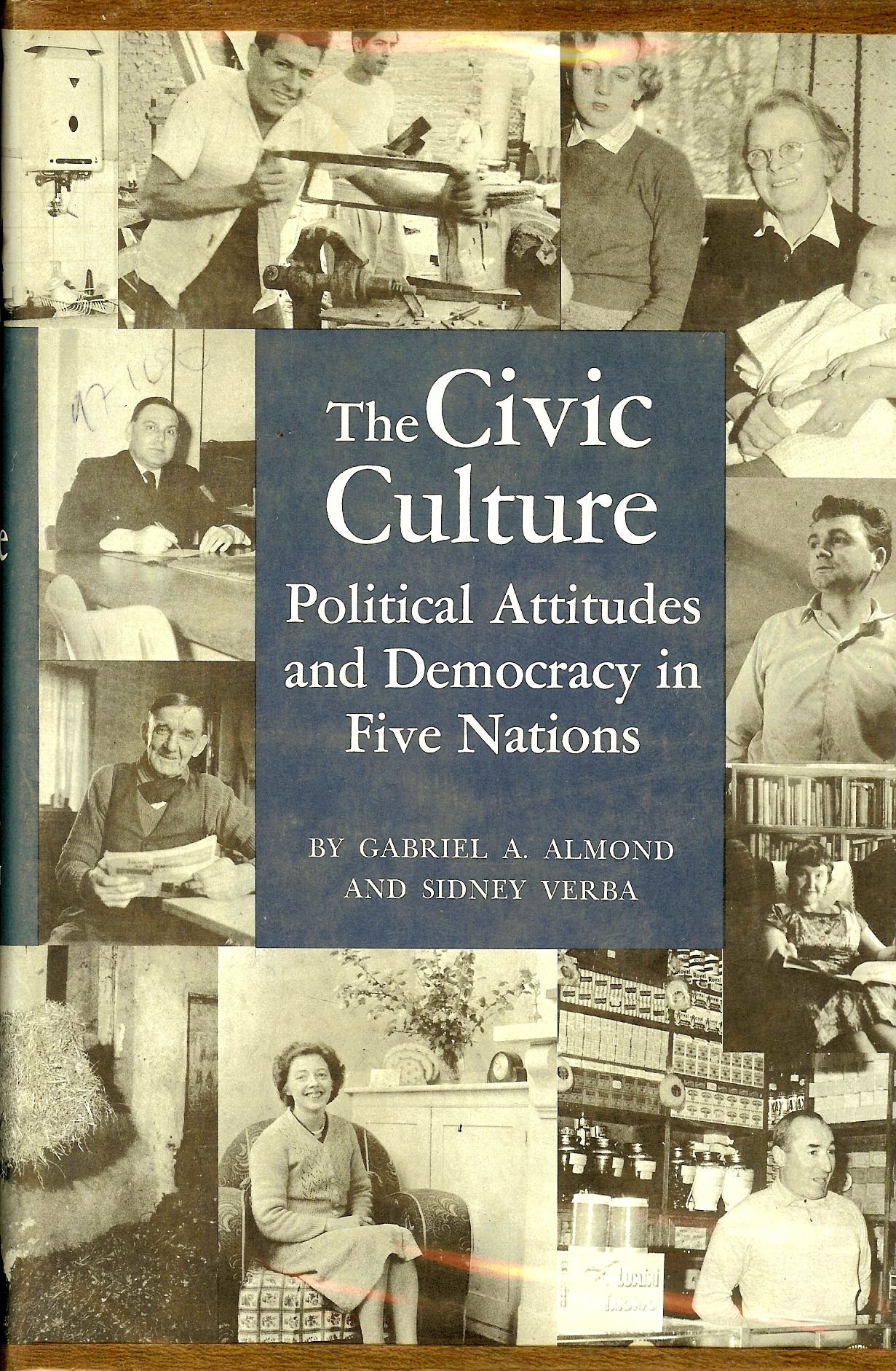 نتيجة بحث الصور عن civic culture almond and verba