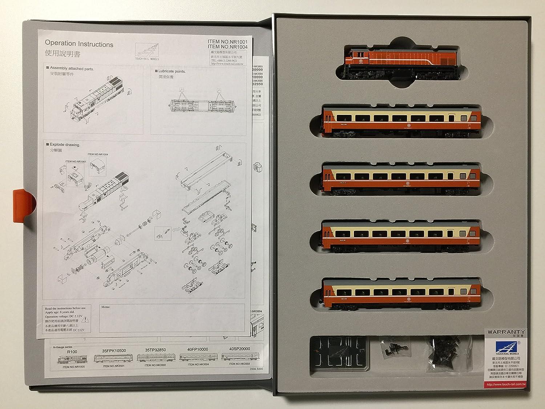 鉄道模型 台湾 Nゲージ 鐵支路模型 5両セット 莒光號 35SP32950 Nゲージ ディーゼル機関車付 5両セット VT1018 B0723BMCF2 B0723BMCF2, リング工房 スタイルリング:bfac8f87 --- kapapa.site