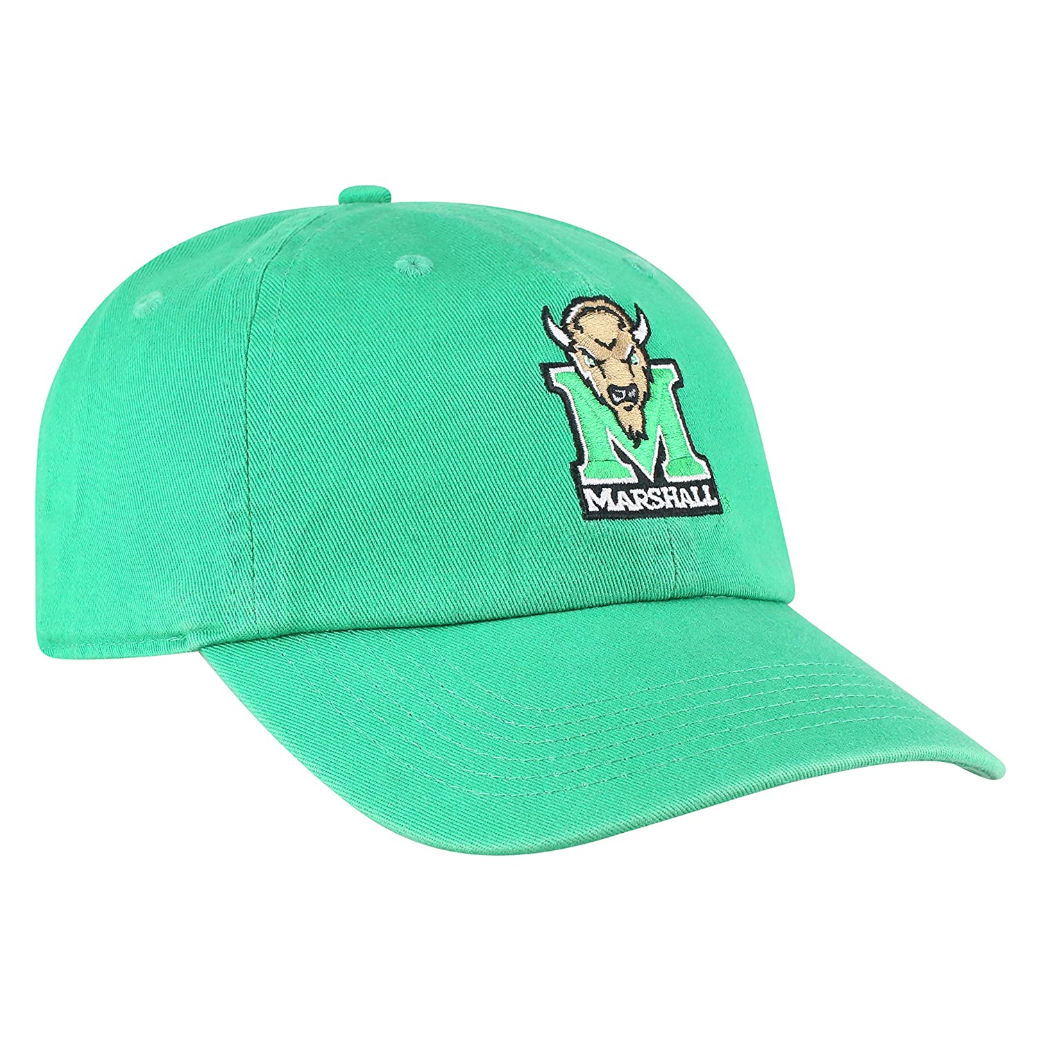 Green Top of the World Marshall Thundering Herd Mens Hat Icon