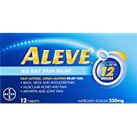 Aleve Fast-acting Pain Relief Tablets, 12ct