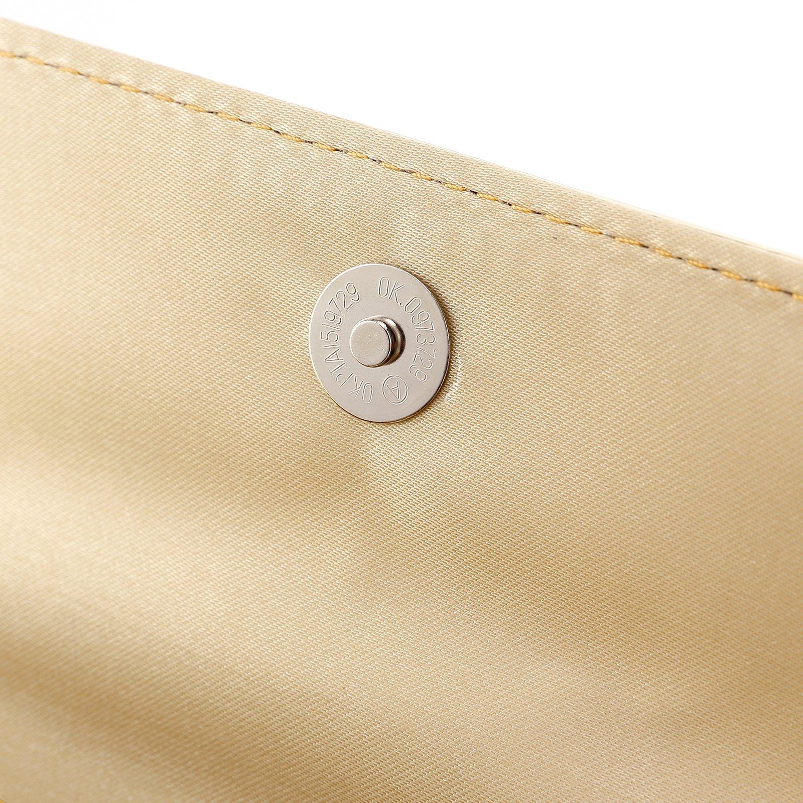 Fraulein38 Designer Mirror Metallic Women Clutch Patent Evening Bag by Fraulein38 (Image #3)