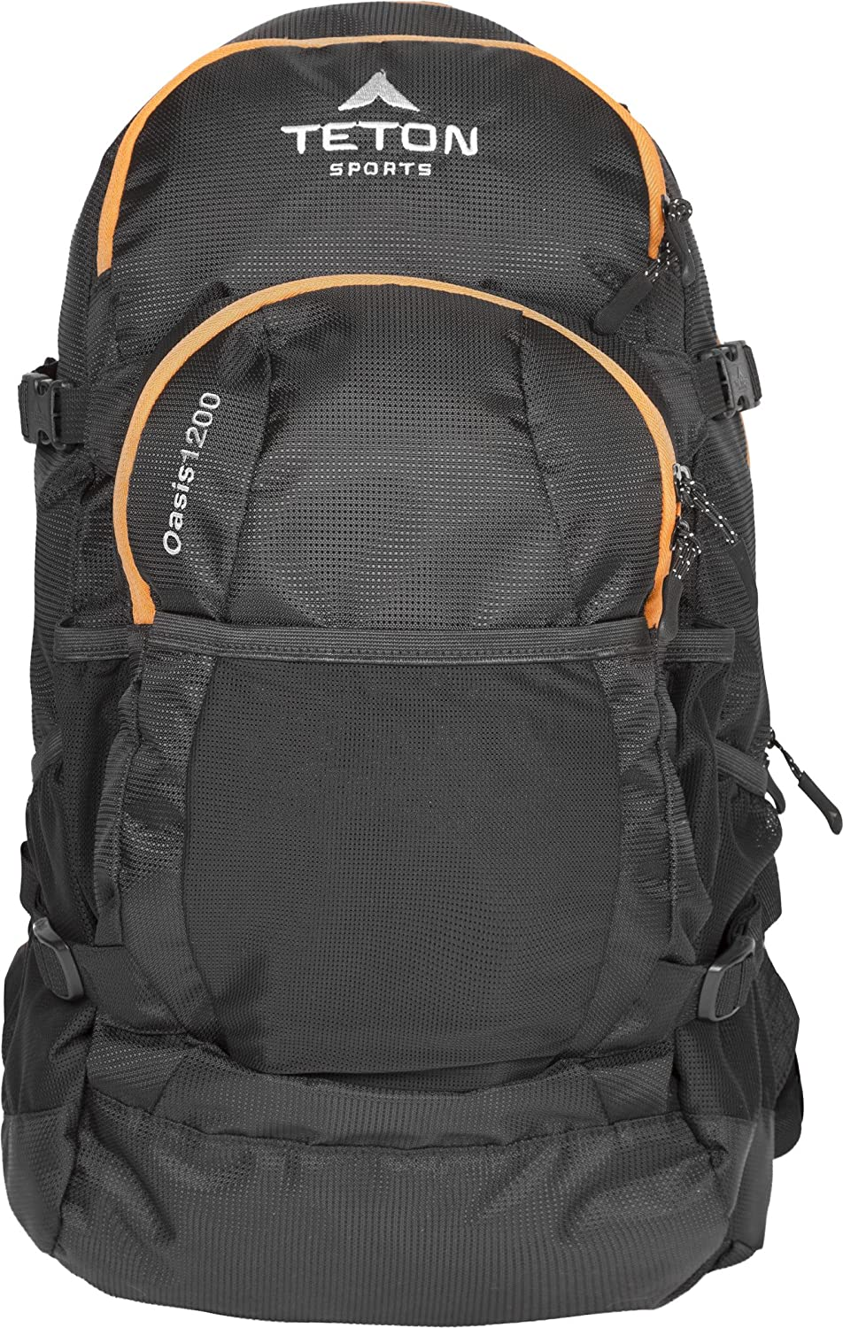 TETON Sports Oasis 1200 Hydration Pack Free 3-Liter Hydration Bladder Backpacking, Hiking, Running, Cycling, and Climbing