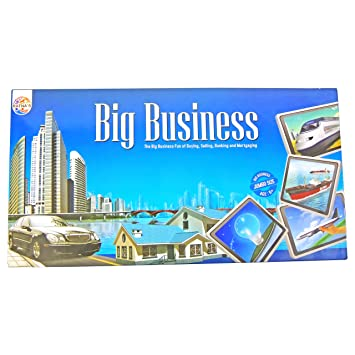 Ratnas Big Business Monopoly Board Game with Plastic Money, Multi Color