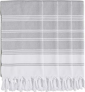 LANECOVE Striped Turkish Beach Towel Peshtemal Sarong Bath SPA Gym 100/% Cotton