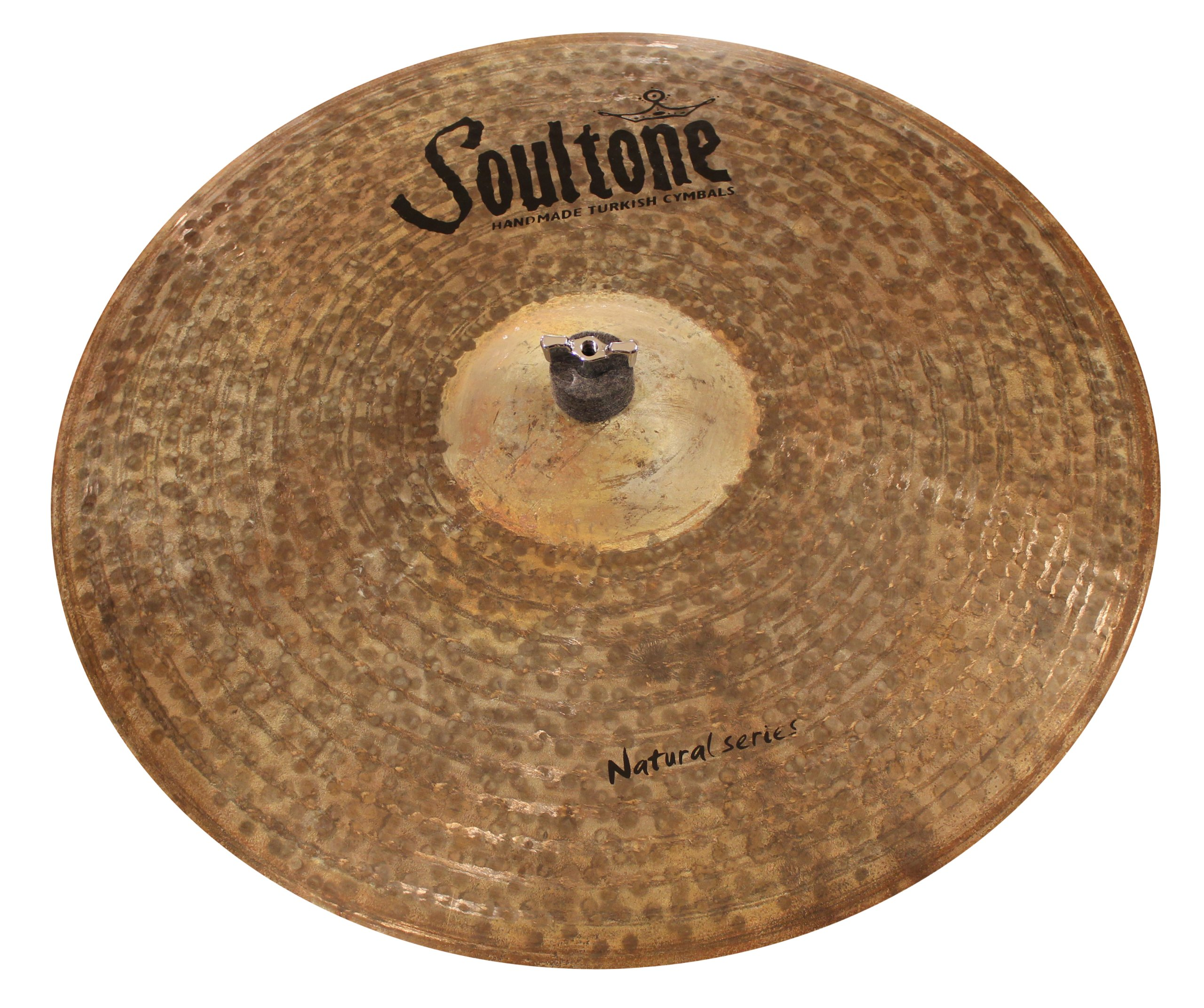Soultone Cymbals NTR-BBRID21-21'' Natural Big Bell Ride by Soultone Cymbals