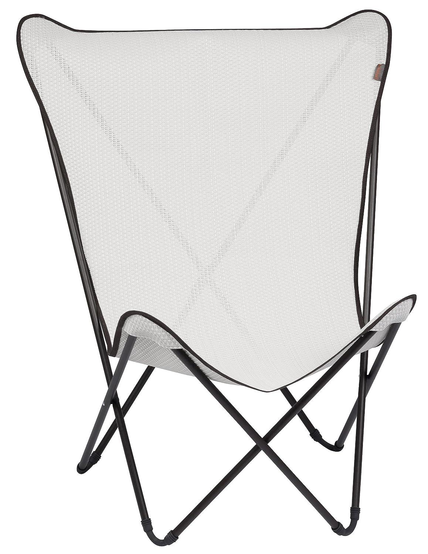 lafuma maxi pop cannage fauteuil pliant kaolin tube marron amazonfr sports et loisirs - Fauteuil Pliant Lafuma